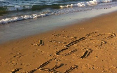 Prier sur le sable