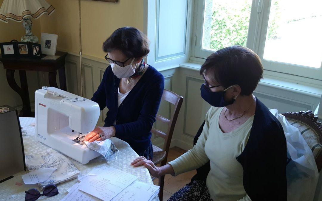 L'atelier de masques lavables