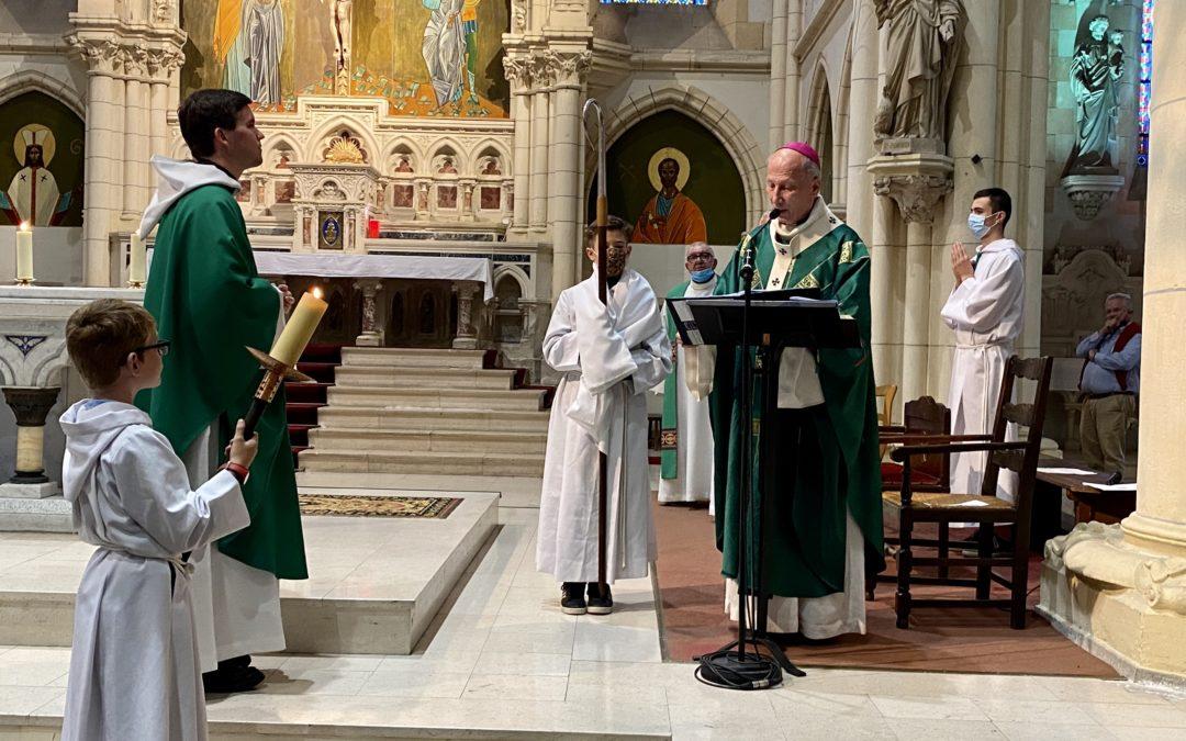 L'édito et la messe du 26 septembre 2021